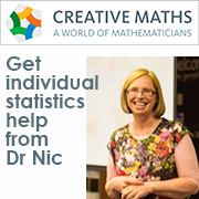 Get individual statistics help from Dr Nic