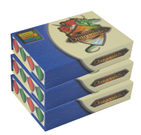 Dragonistics Data Card Sampling Pack is three boxes of Dragonistics Data Cards