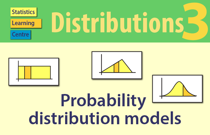 Probability distribution models