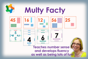 Multy Facty - a multiplication facts game